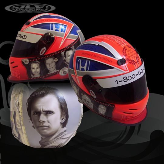 Bell Racing Helmets >> Dan Wheldon Helmets